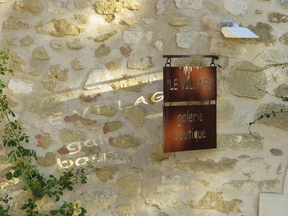 Wall, Provence, South Of France, Village, Facade