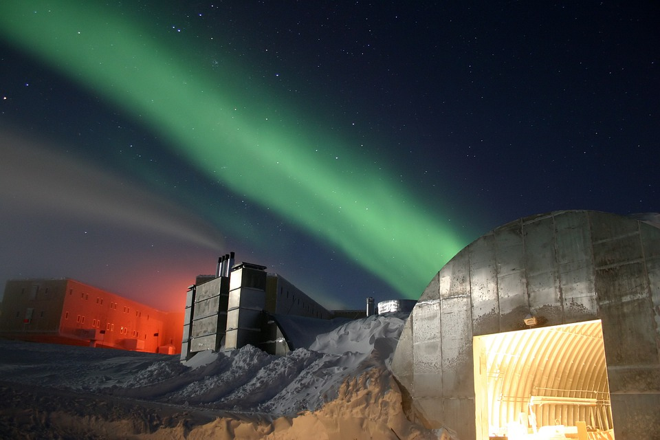 South Pole, Research Institution, Research Station