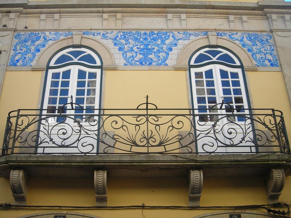 Portugal, Window, Balcony, City, Facade, South