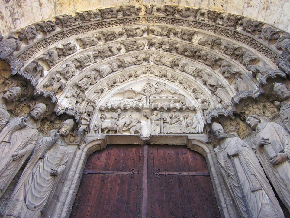 Chartres Cathedral, Confessors Portal, South Transept