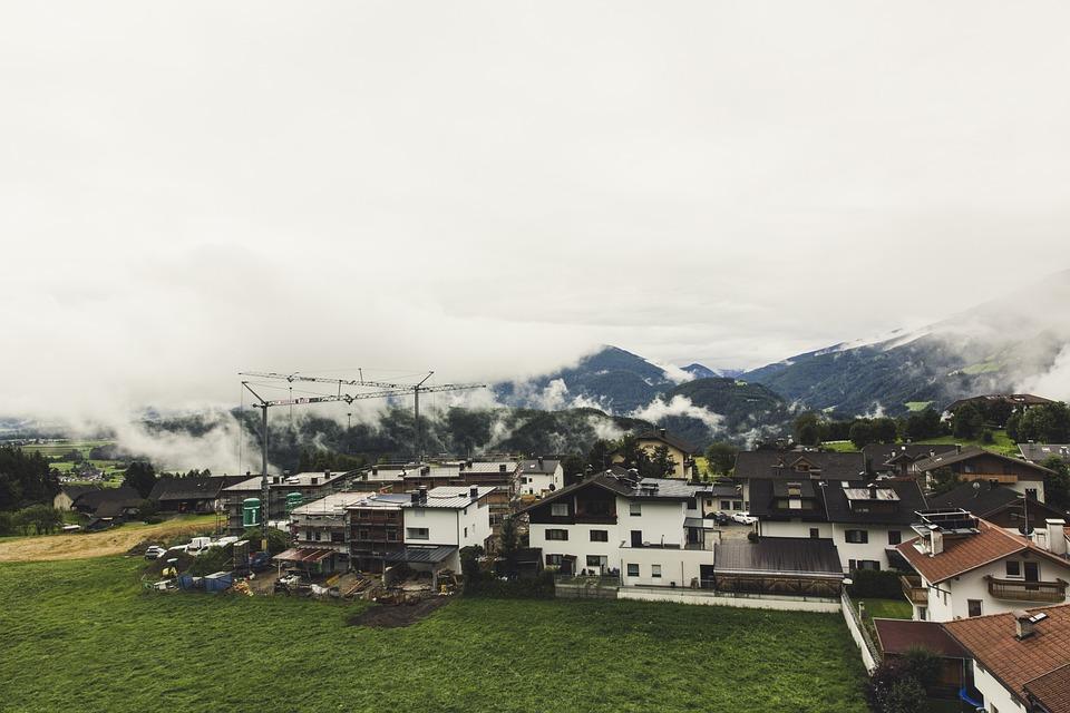 Plan De Corones, South Tyrol, Alpine, Mountains
