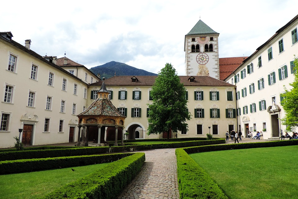 South Tyrol, The Monastery Neustift