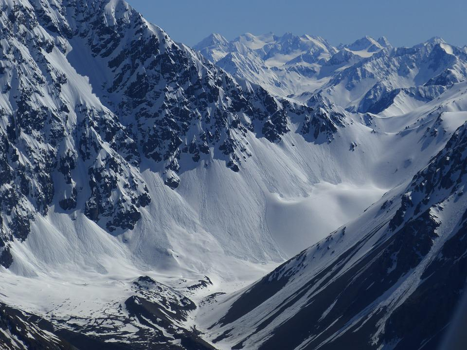 Mount Cook, New Zealand, Southern Alps, Nature, Snow