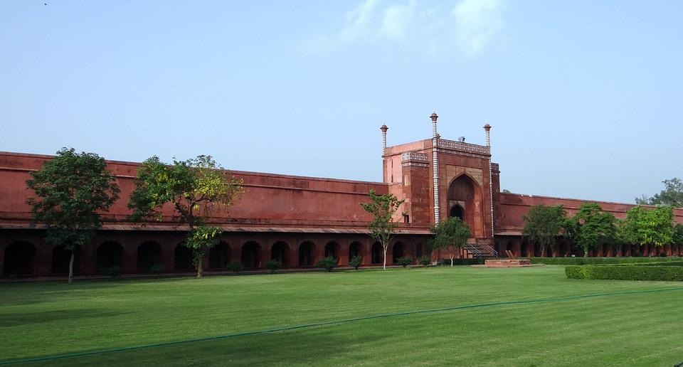 Southern Gate, Taj Mahal, Agra, India