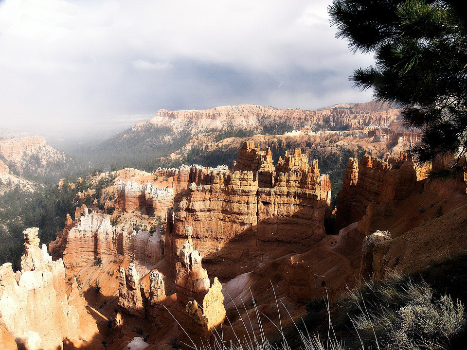 Bryce Canyon, Utah, Usa, Rock, National Park, Southwest