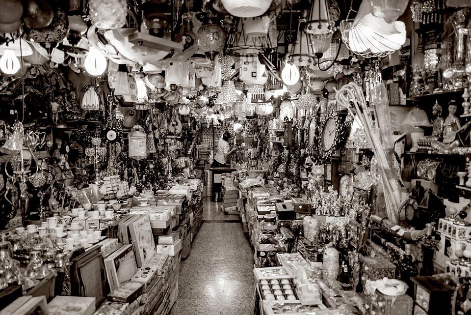 Shop, Store, Retail, Gift, Souvenir, Lamp, Light