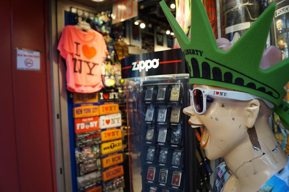 New York, Souvenir, Souvenir Shop