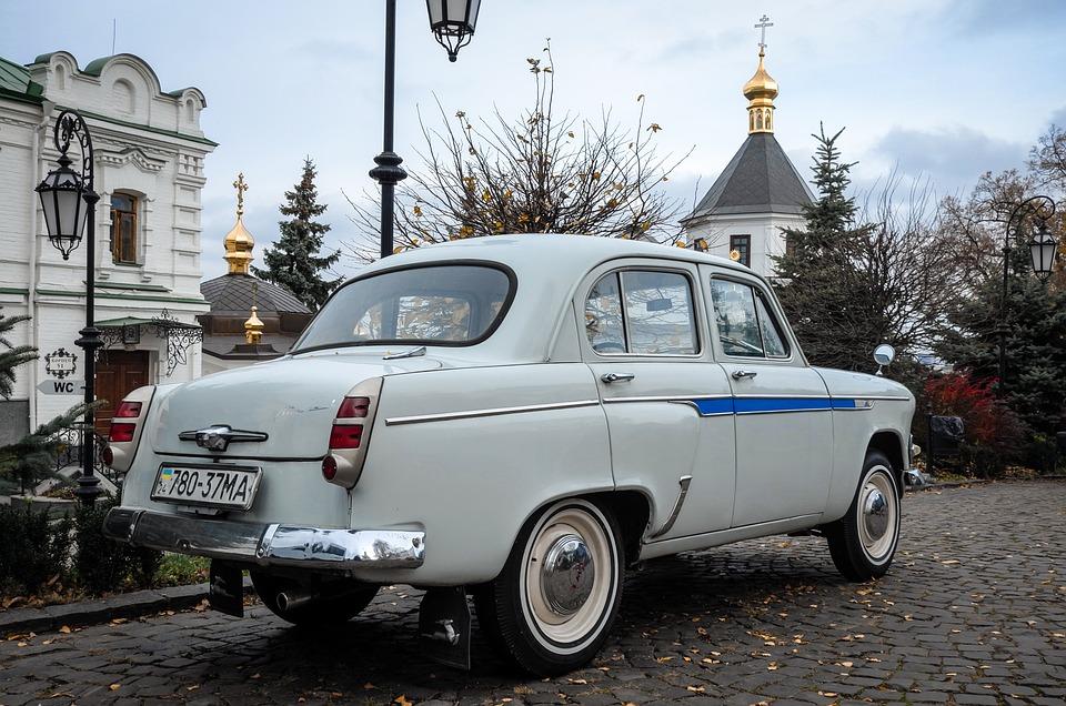 Moskvich, Auto, Historically, Soviet, Vehicle
