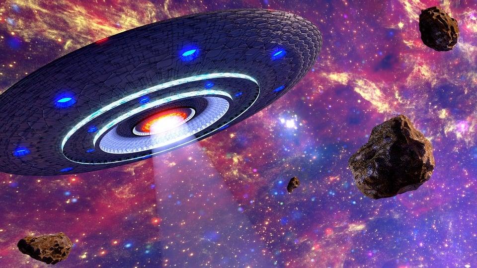 Ufo, Space, Alien, 3d, Blender