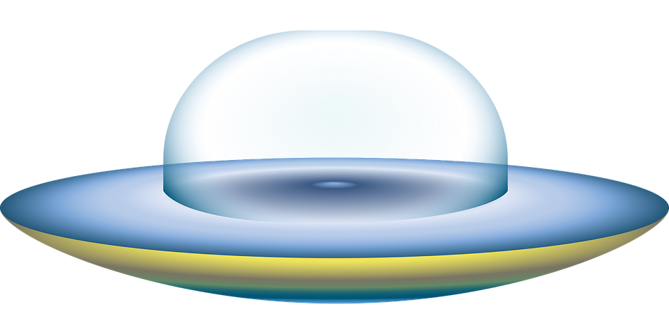 Graphic, Ufo, Space, Flying Saucer, Alien, Ship, Galaxy