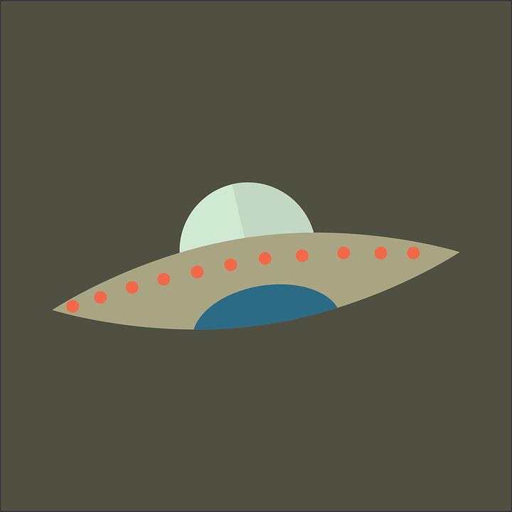 Night, Ufo, Alien, Extraterrestrial, Space, Flying