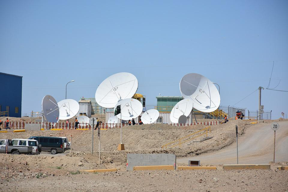 Satellite Antenna, Communication, Space, Network