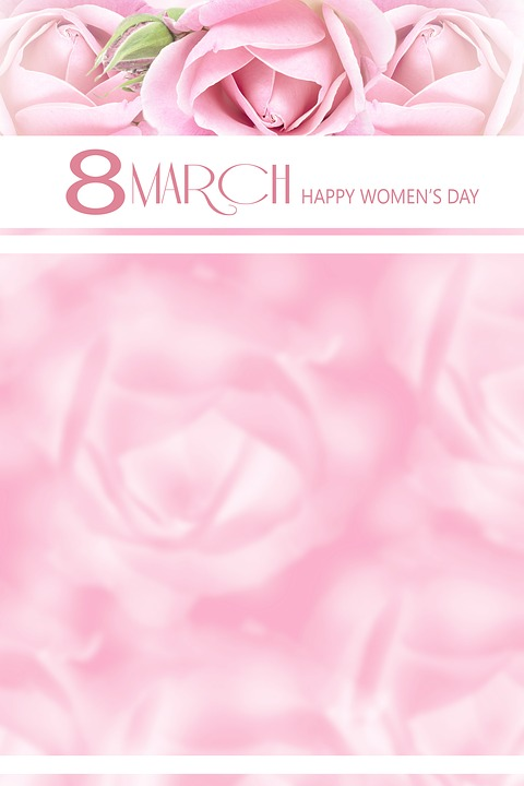 Women's Day, 8 March, Space For Text, Love, Romance