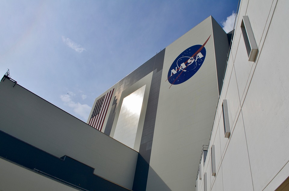 Nasa, Large, Building, Science, Space, Mission