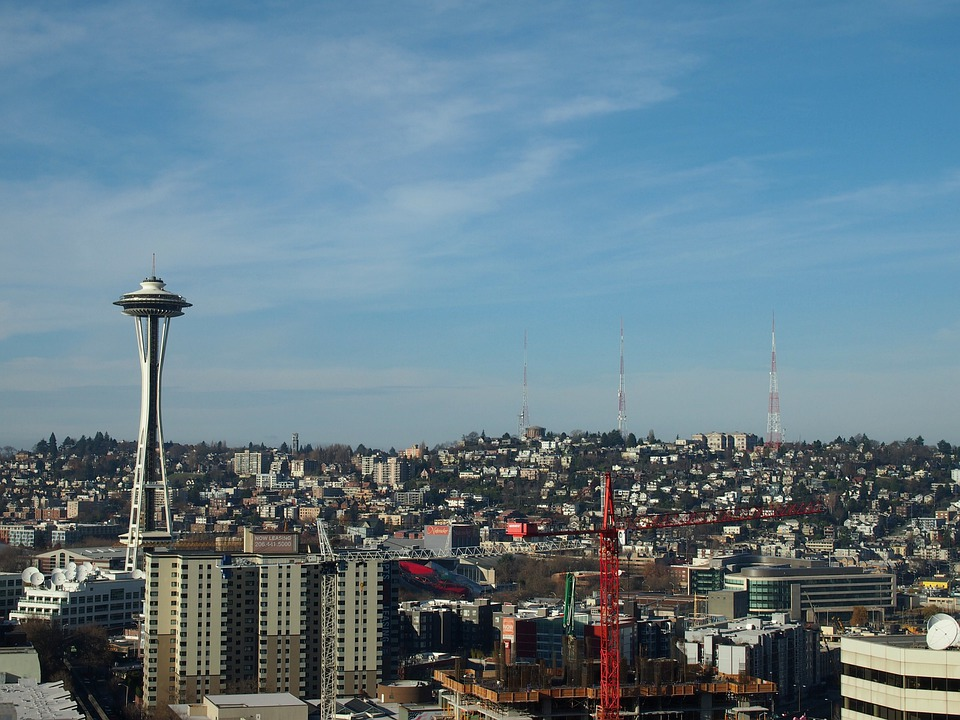 Space Needle, Seattle, Towers, Radio, City, Tv Tower