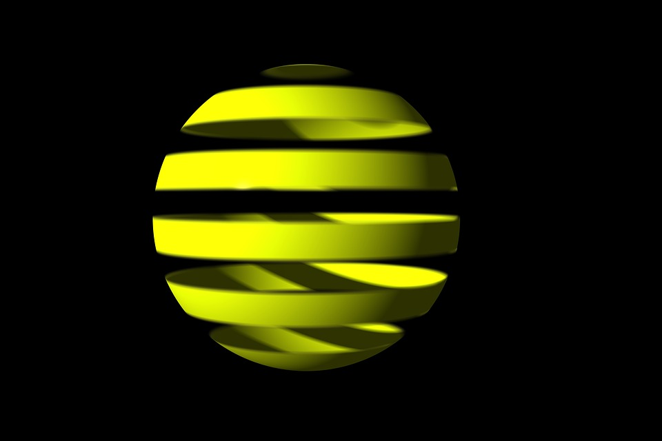 Sphere, Rings, Design, Circle, Space, Round