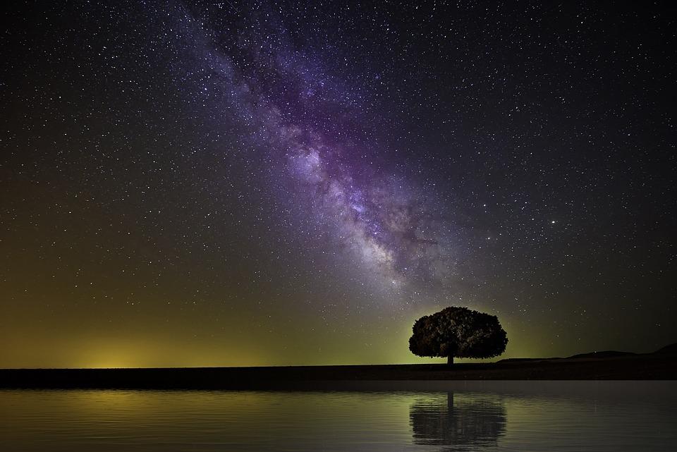 Milky Way, Space, Nature, Sky, Universe, Cosmos, Night
