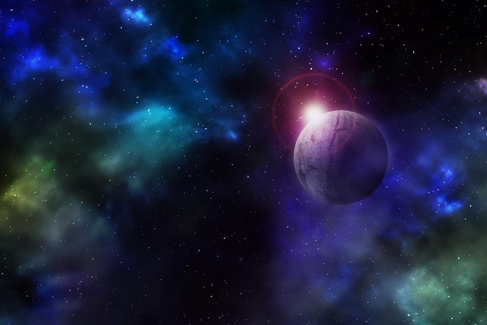 Space Star Planet Sun Sunrise Universe All
