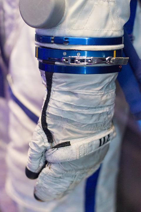 Tim Peake, Uk, Space Suit, Gloves