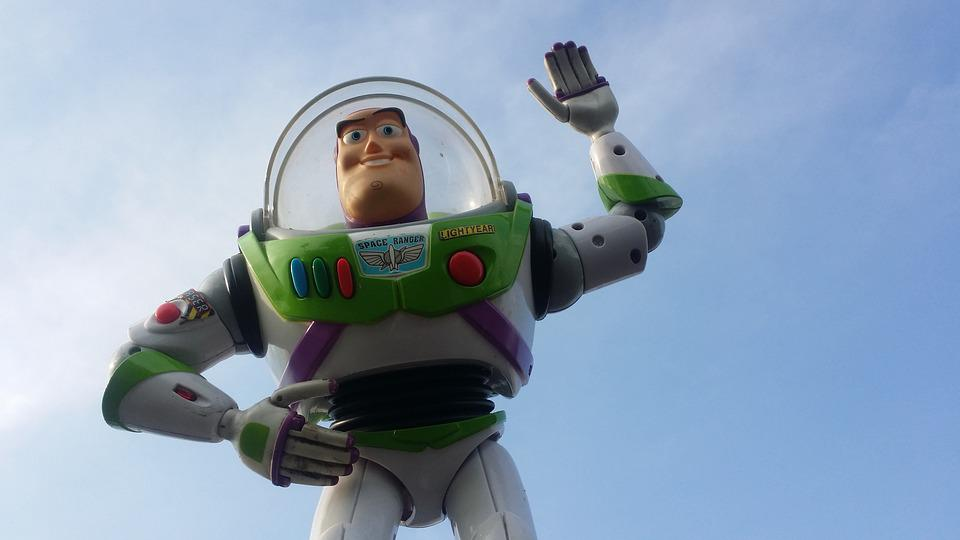 Buzz, Toys, Toy Story, Sky, Disney, Space Suit
