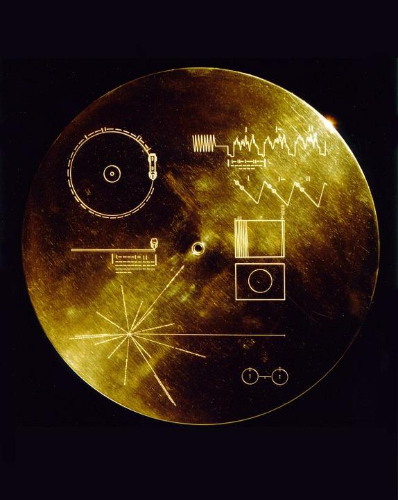 Space Travel, Voyager Golden Record, Data Sheets