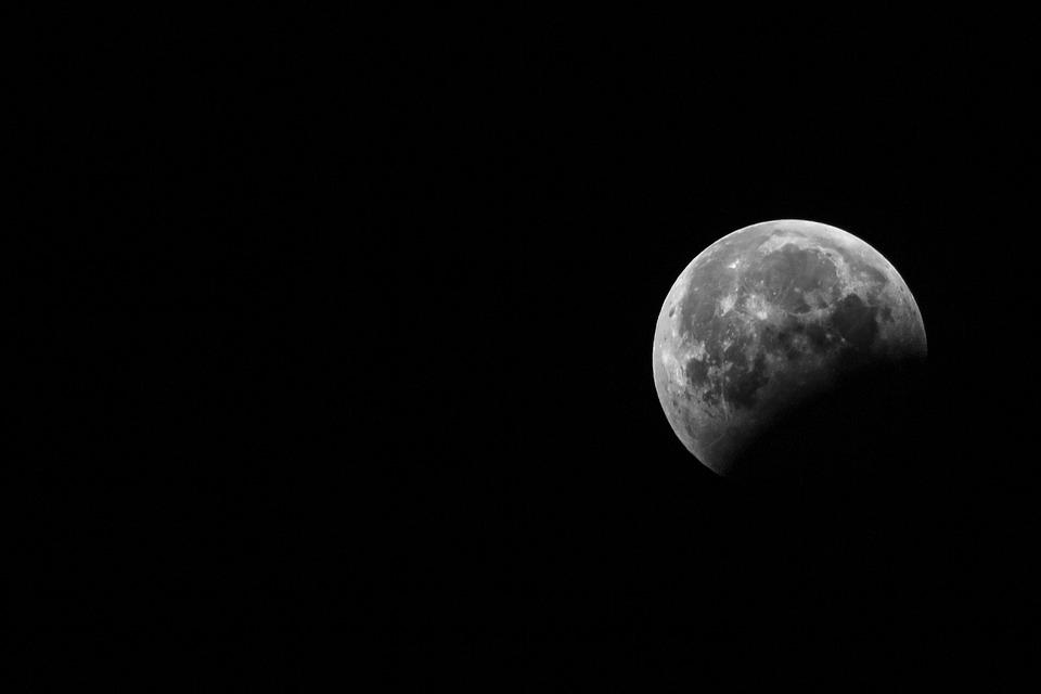Moon, Satellite, Space, Sky, Universe, Satelite, Night