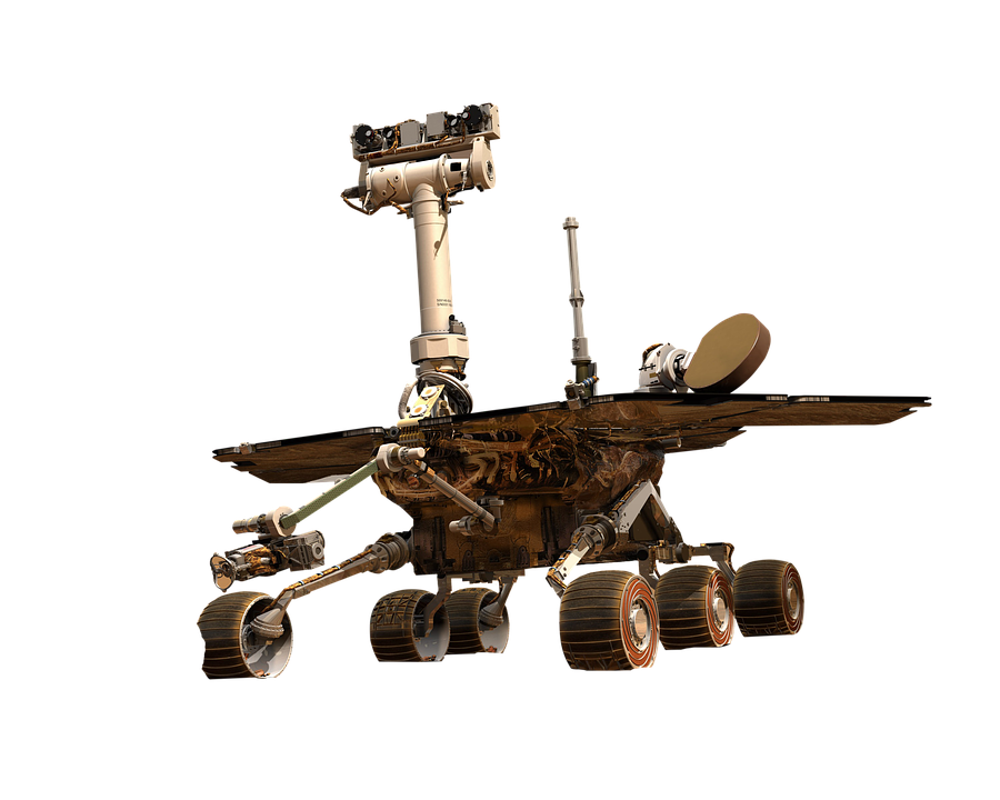Mars, Transparent, Moon, Vehicle, Space, Research