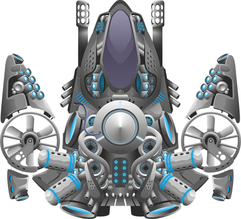 Vessel, Space, Mechanics, Sprite