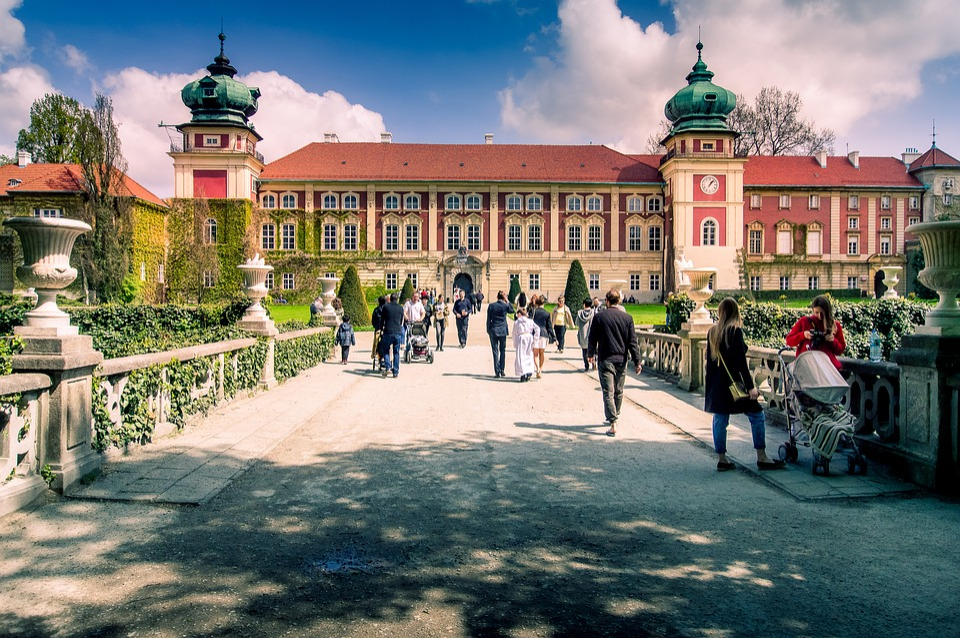 Castle, łańcut, Poland, Architecture, Spacer, Monument