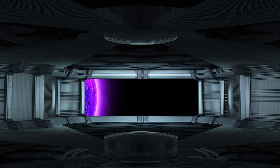 Universe, Travel, Spaceship, Interior, Stage Design