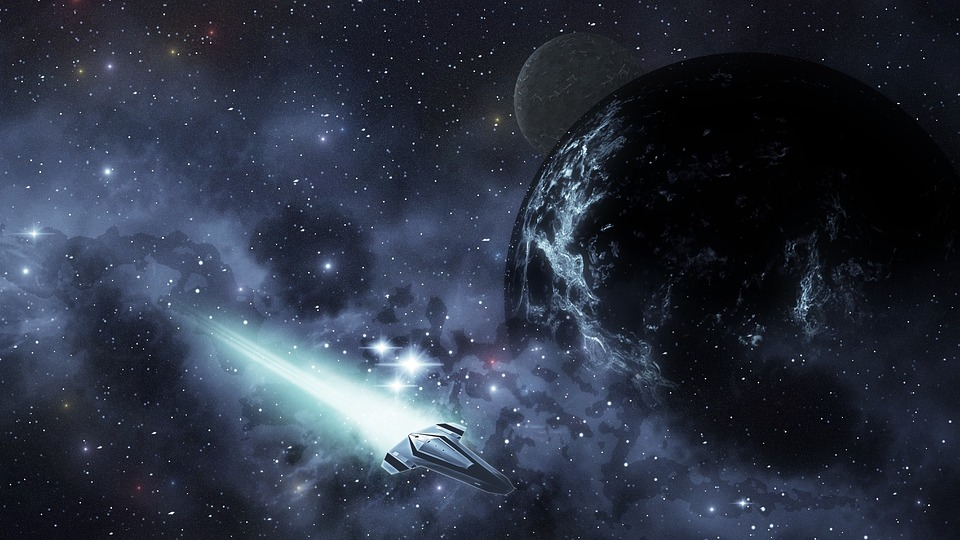 Free Photo Spaceship Science Fiction Adventure Futuristic