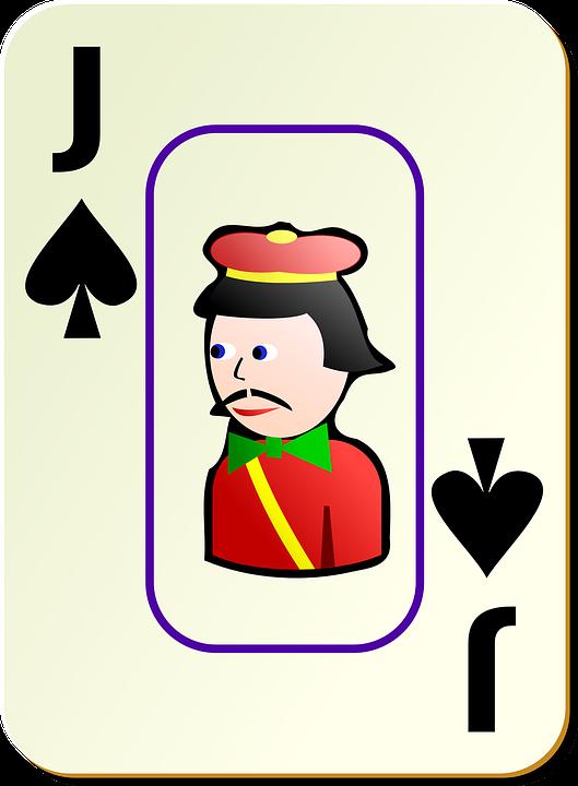 Jack, Spades, Spade, Card, Recreation, Games, Cards