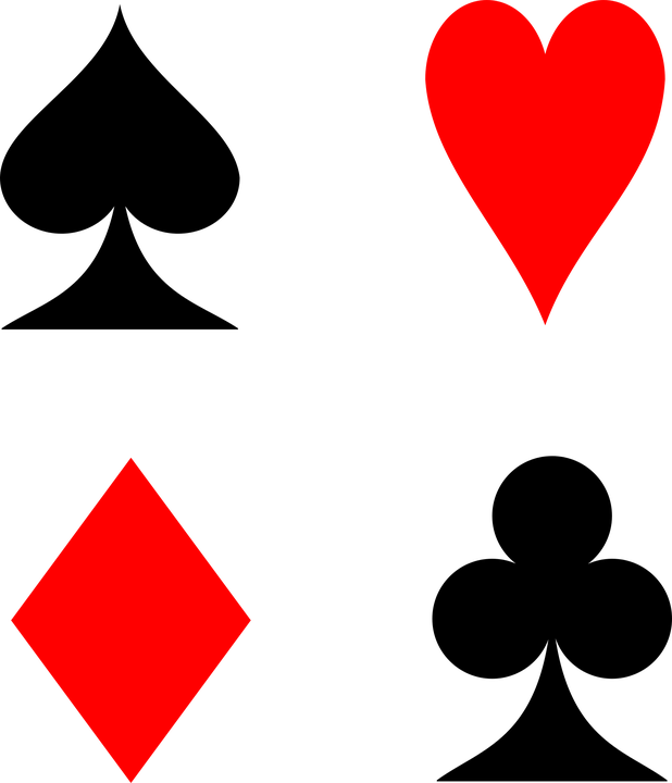 Playing Cards, Cards, Suit, Spades, Hearts, Diamonds