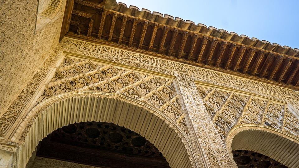 free photo spain andalusia moorish architecture alhambra max pixel