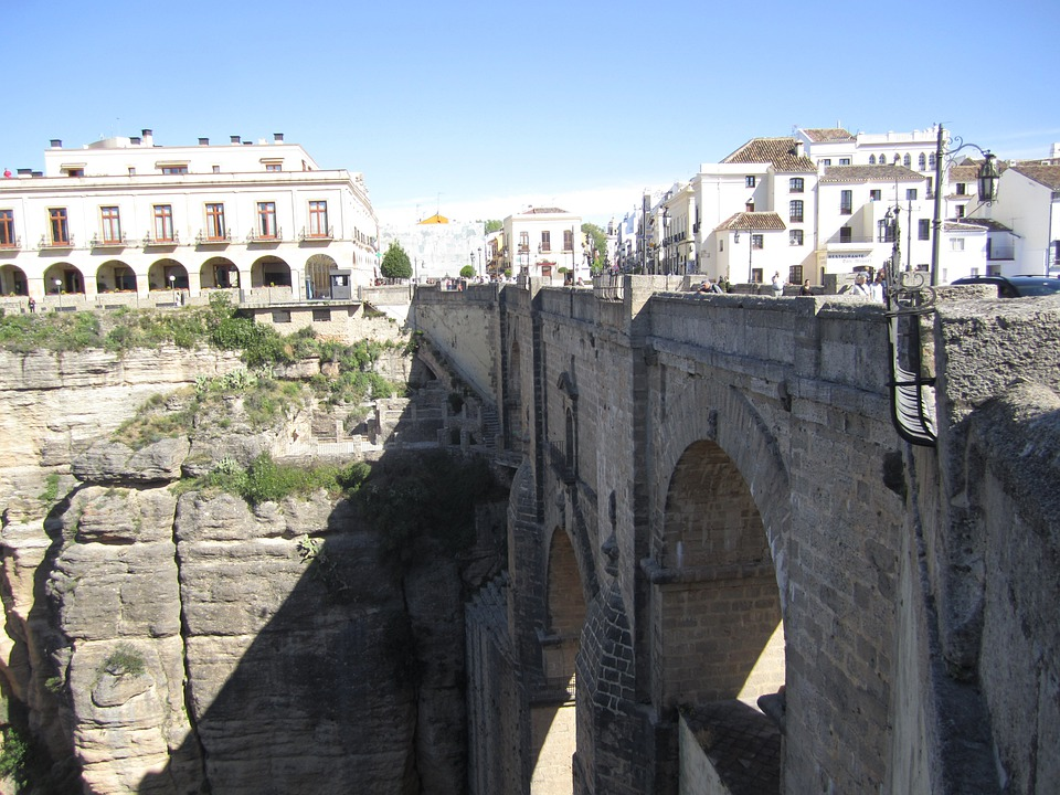 Ronda, Andalusia, Spain, Bridge