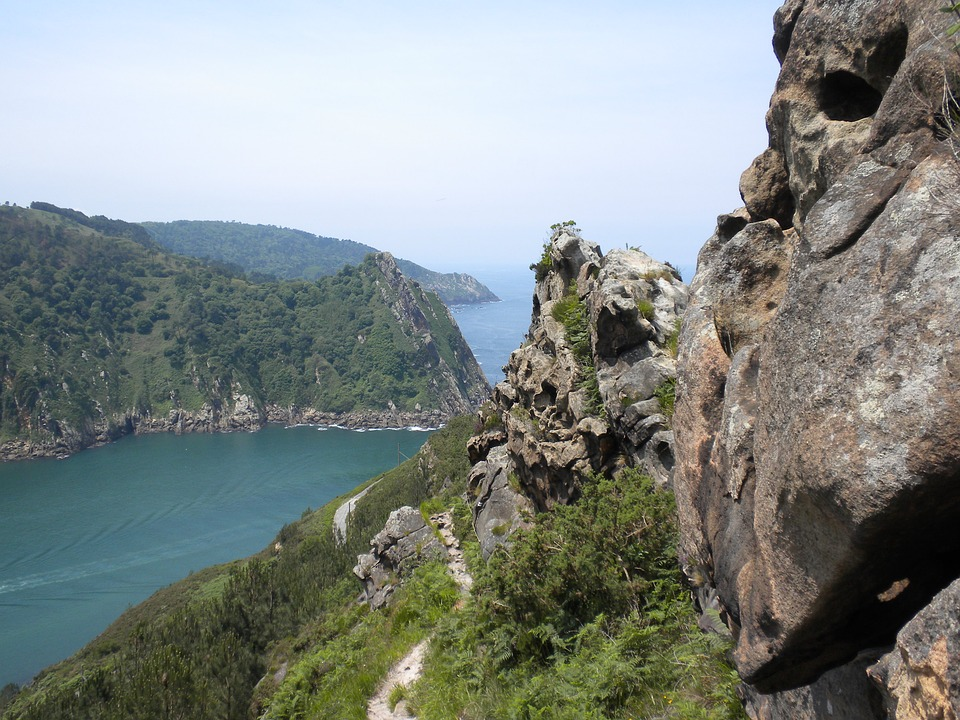 Spain, Andorra, Rock, Mountain, Sea