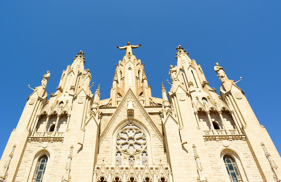 Architecture, Church, Cathedral, Spain, Building