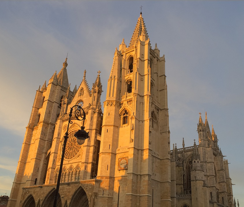 Spain, Castile And Leon, Cathedral, Church, Gothic
