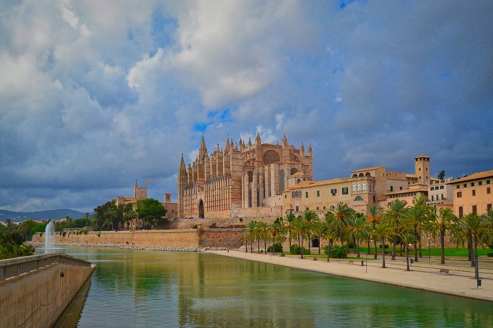 Cathedral, Palma, Mallorca, Architecture, Spain