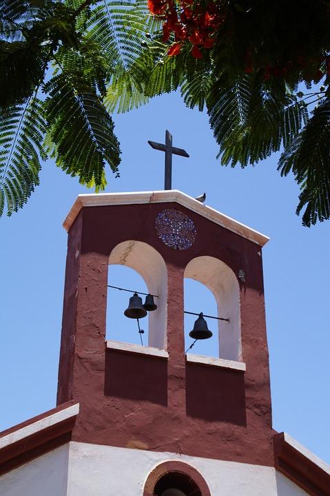 Church, Spain, Tenerife, Chapel, Santa Cruz, Bells