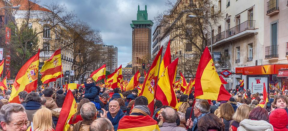 Spain, Patriots, Vox, Flag, Popular Party, Citizens