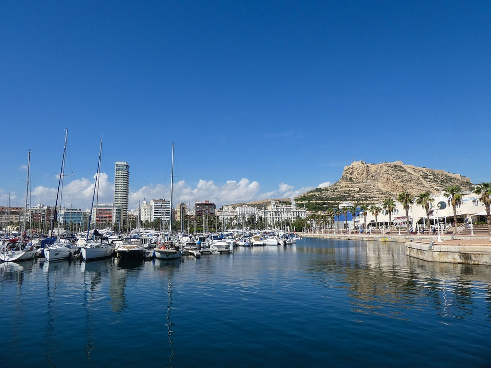 Alicante, Spain, City, Landscape, Travel, Mediterranean