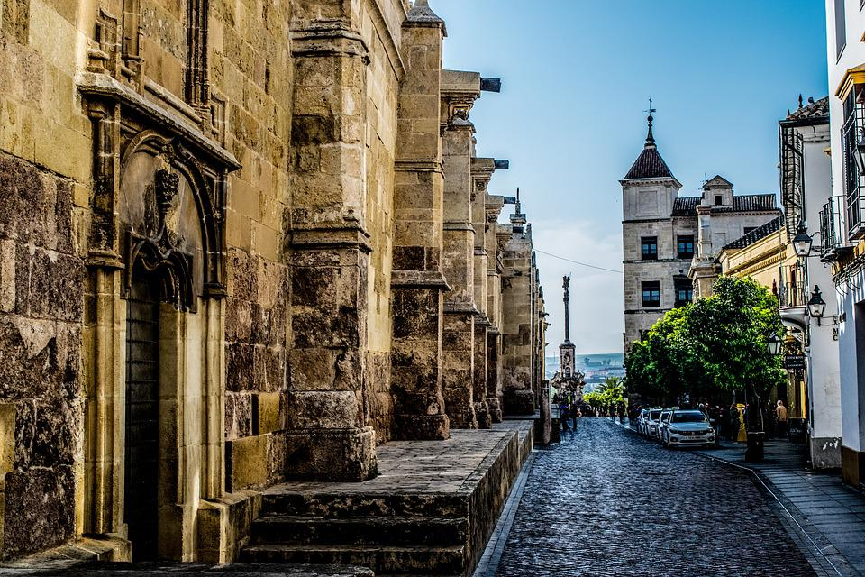 Cordoba, Andalusia, Spain, Cathedral, City