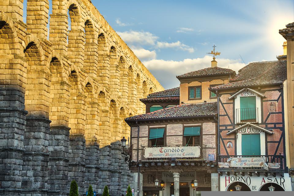City, Meson De Candido, Segovia, Spain, Architecture