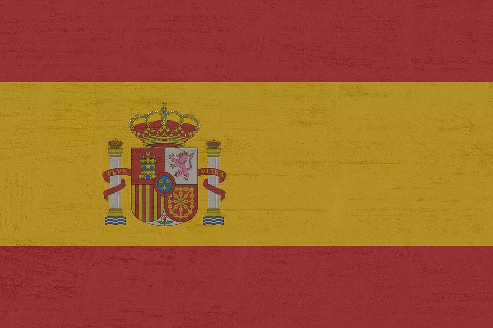 Spain, Flag, Europe, National Colours