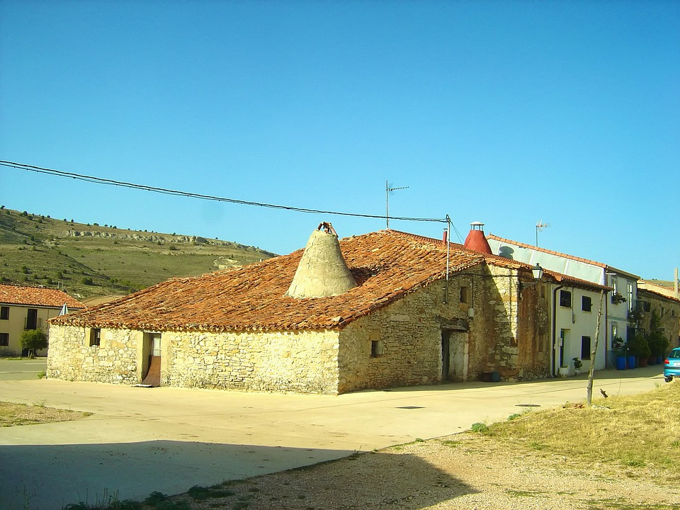 Soria, Spain, Houses, Buildings, Architecture
