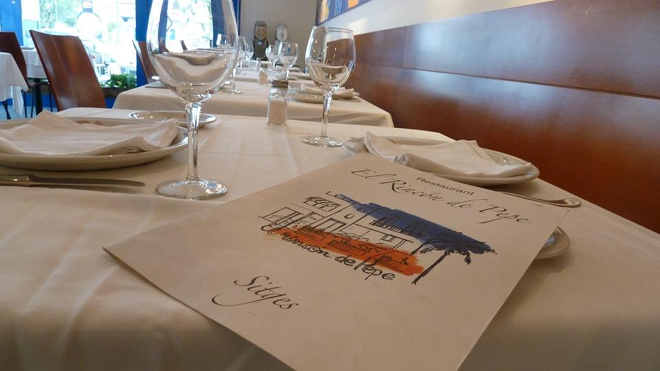 Restaurant, Letter, Spain, Barcelona, Sitges