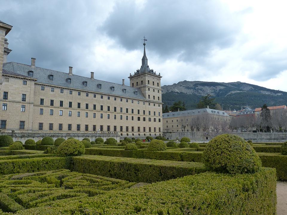 Madrid, Spain, Escorial, Palace, Church, Historically