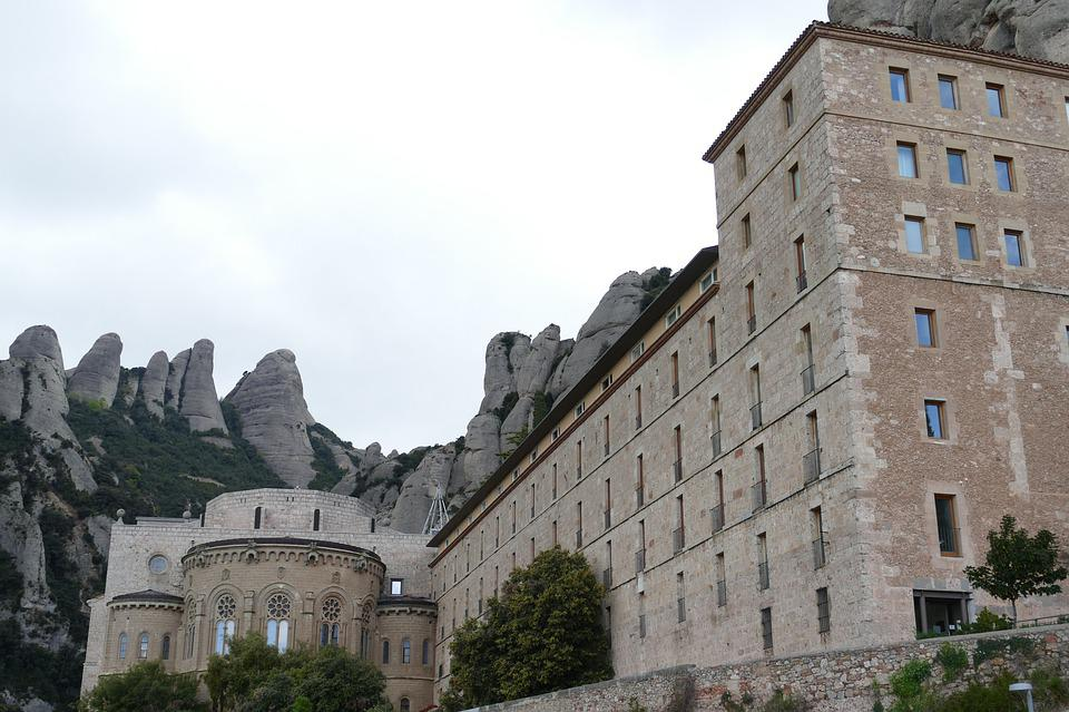 Montserrat, Monastery, Spain, Religion, Church