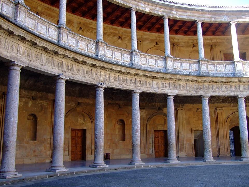 Palace, Architecture, Granada, Spain, Andalusia